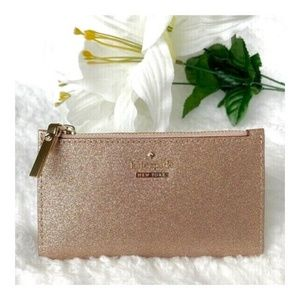 Kate Spade All That Glitters Wallet Rose